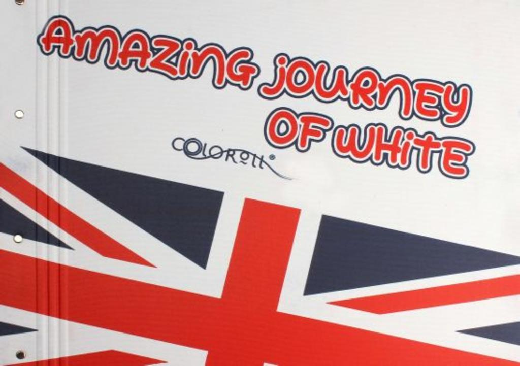 Amazing jorney of white