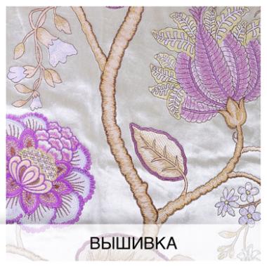 Вышивка. Портьерная ткань с вышивкой