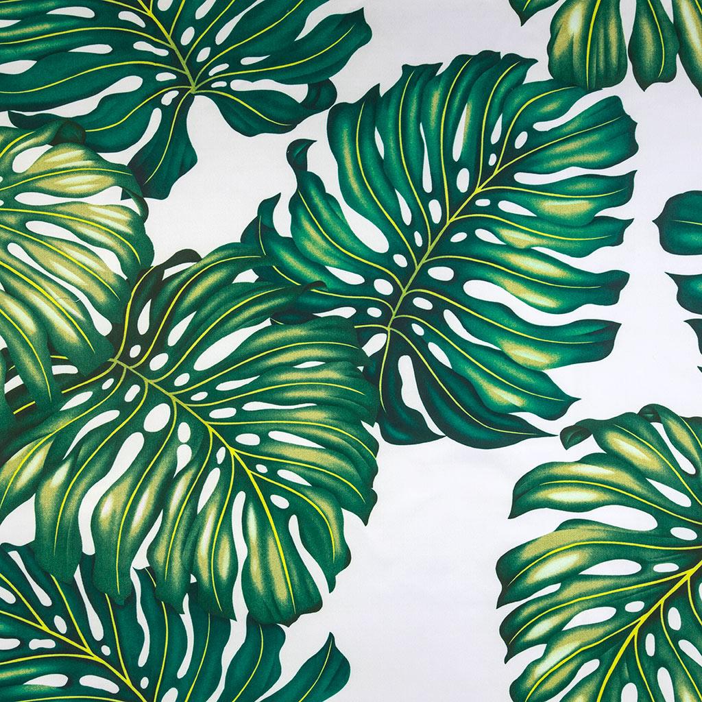 Листья. Ткань для штор